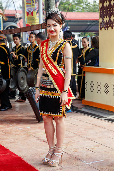 District level Kaamatan Queen of Tambunan 2014 Photo by CEphoto, Uwe Aranas